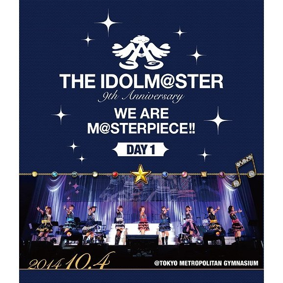 Idolm@ster 9th Anniversary We Are M@sterpiece Blu-ray Tokyo Koen Day 1