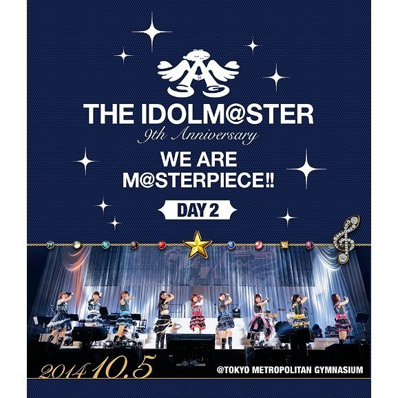 Idolm@ster 9th Anniversary We Are M@sterpiece Blu-ray Tokyo Koen Day 2
