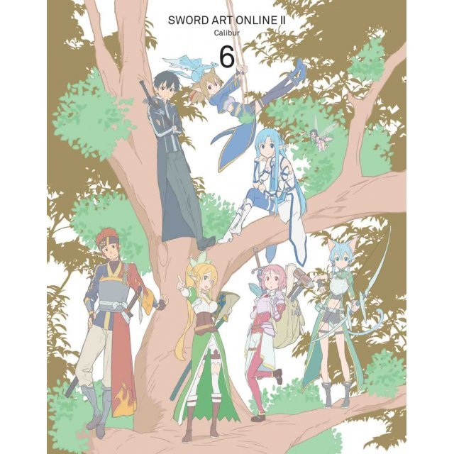 Sword Art Online II Vol.6 [DVD+CD Limited Edition]