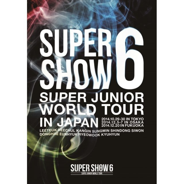 Super Junior World Tour Super Show 6 In Japan