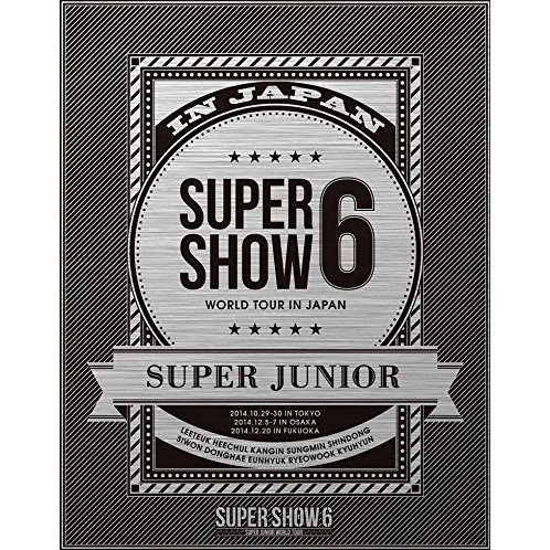 Super Junior World Tour Super Show 6 In Japan [Limited Edition]