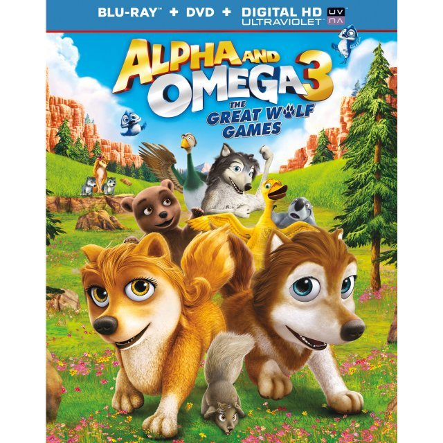 Alpha and Omega 3: The Great Wolf Games [Blu-ray+DVD+Digital Copy]
