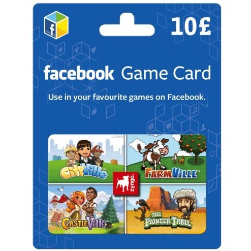 Facebook Game Card (GBP 10)