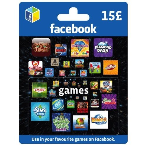 Facebook Game Card (GBP 15)