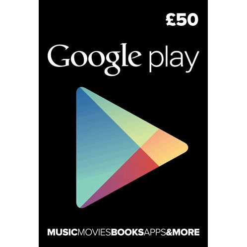 Google Play Card (GBP 50 / for UK accounts only)