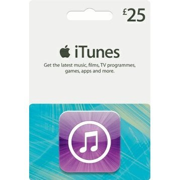 iTunes Card (GBP 25 / for UK accounts only)
