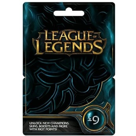 League of Legends Game Card (GBP 9)