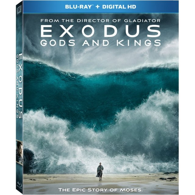 Exodus: Gods and Kings [Blu-ray+Digital HD]