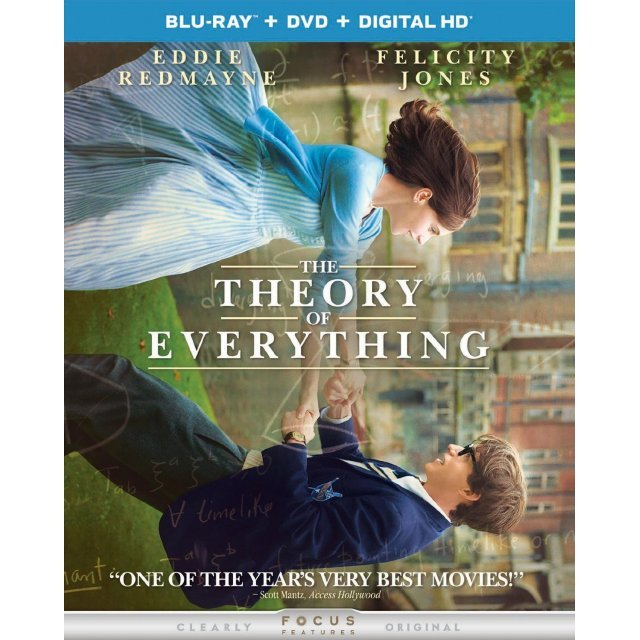 The Theory of Everything [Blu-ray+DVD+Digital HD+UltraViolet]