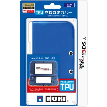 TPU Cover for New 3DS LL (Clear Blue)