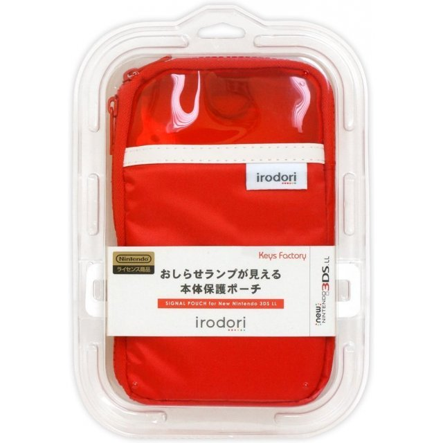 Signal Pouch for New 3DS LL (Red)