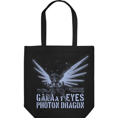 Yu-Gi-Oh! Zexal Tote Bag Black: Galaxy-Eyes Photon Dragon (Re-run)