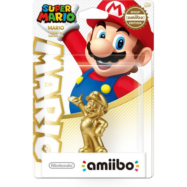 amiibo Super Mario Series Figure (Mario - Gold Edition)