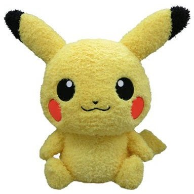 Pokemon Mokomoko Plush 2L: Pikachu