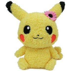 Pokemon Mokomoko Plush: Pikachu Female