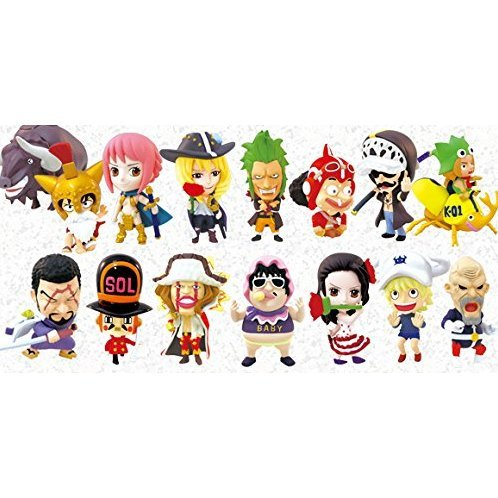 Anime Chara Heroes One Piece Dressrosa Vol. 1 (Set of 15 pieces)