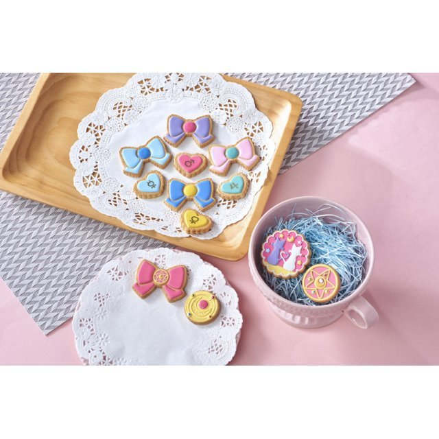 Charm Patisserie Sailor Moon Cookie Charm (Set of 6 pieces)