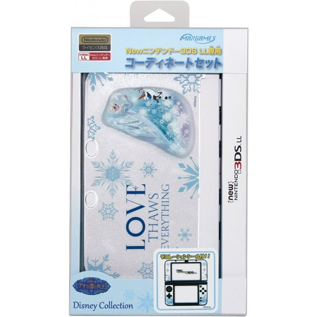 Coordinate Set for New 3DS LL (Elsa & Olaf)