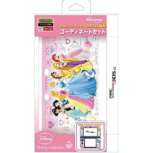 Coordinate Set for New 3DS LL (Princess)