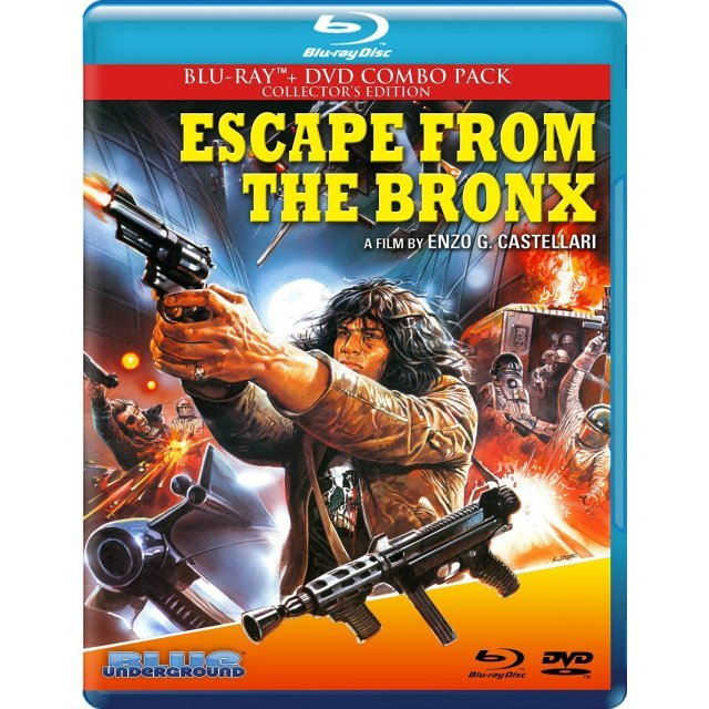 Escape from the Bronx (Collector's Edition) [Blu-ray+DVD]