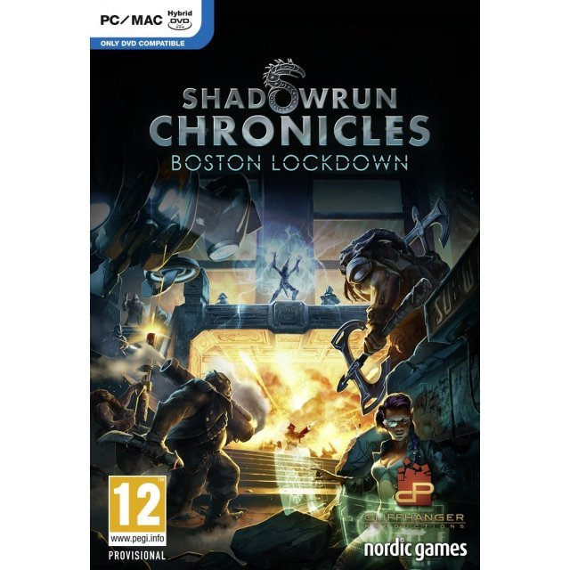 Shadowrun Chronicles: Boston Lockdown (DVD-ROM)