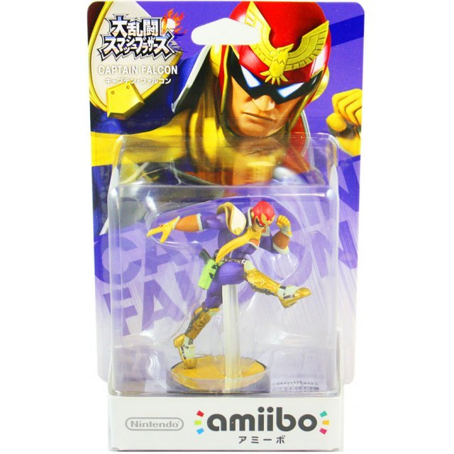 amiibo Super Smash Bros. Series Figure (Captain Falcon) (Re-run)