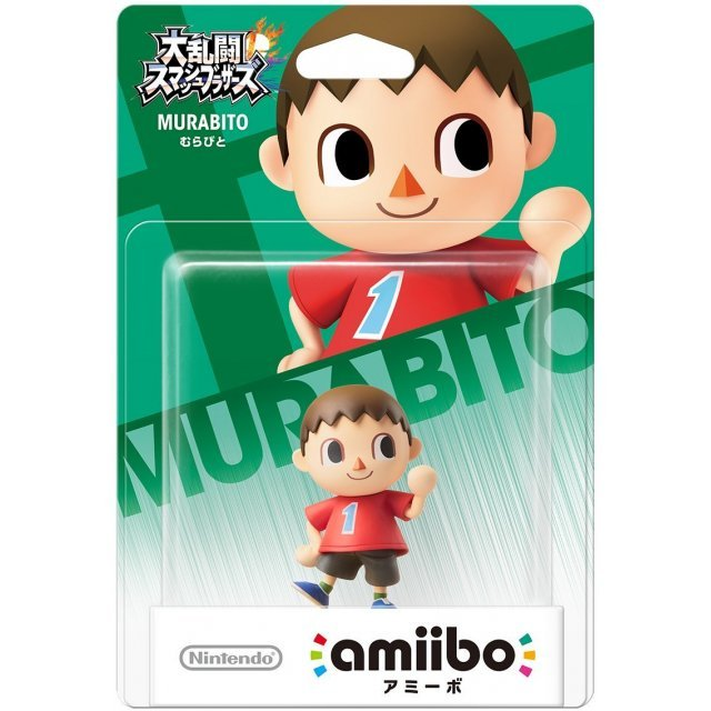 amiibo Super Smash Bros. Series Figure (Murabito) (Re-run)