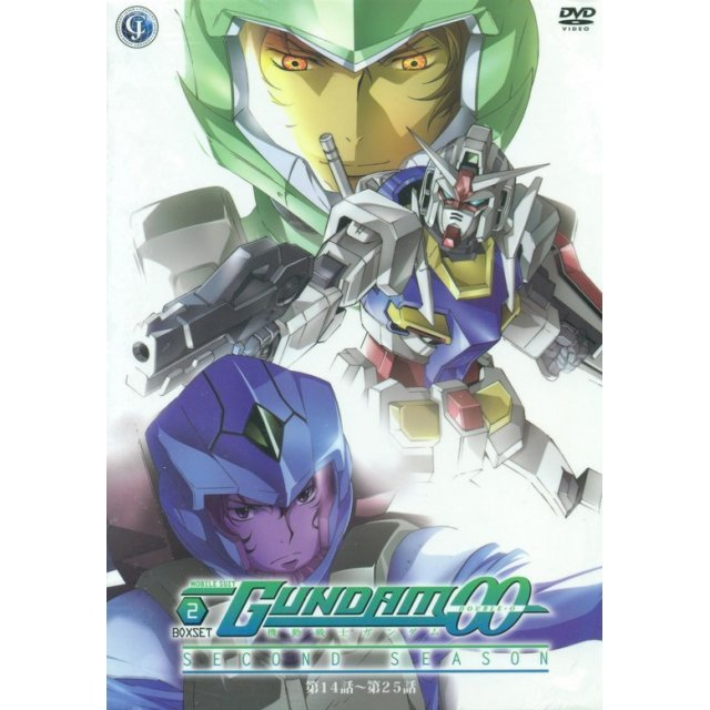 Mobile Suit Gundam 00 Season II Box 2 [Episode 14-25]