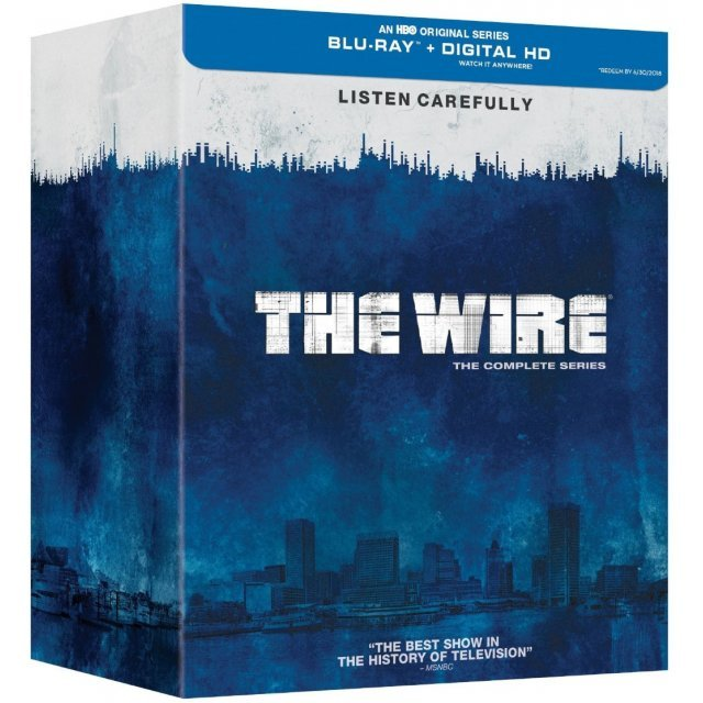 The Wire: The Complete Series [Blu-ray+Digital Copy+UltraViolet]