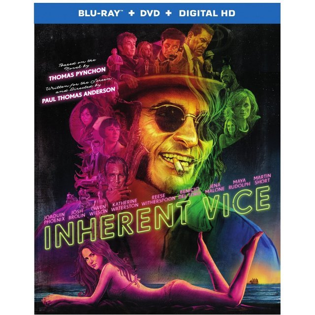 Inherent Vice [Blu-ray+DVD+UltraViolet]