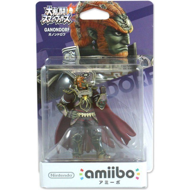 amiibo Super Smash Bros. Series Figure (Ganondorf)