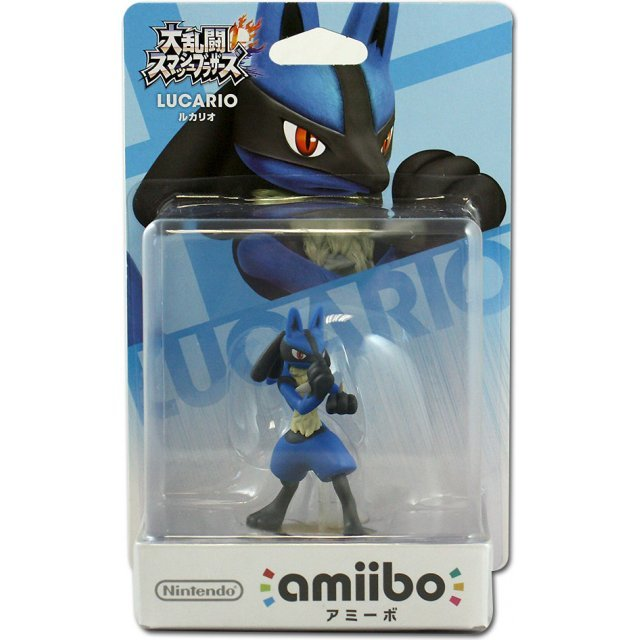 amiibo Super Smash Bros. Series Figure (Lucario) (Re-run)