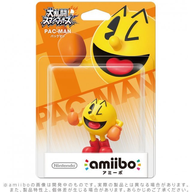 amiibo Super Smash Bros. Series Figure (Pac-Man) (Re-run)