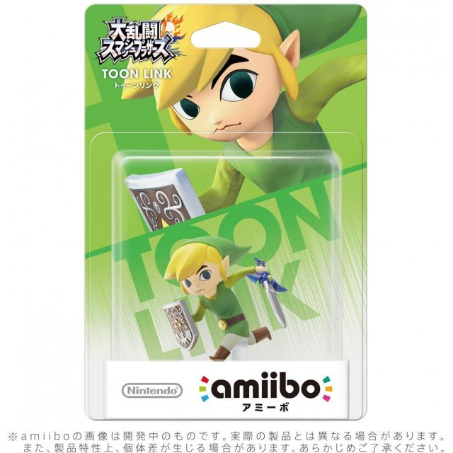 amiibo Super Smash Bros. Series Figure (Toon Link) (Re-run)