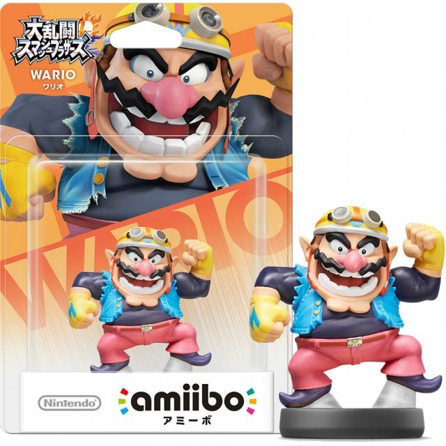amiibo Super Smash Bros. Series Figure (Wario) (Re-run)