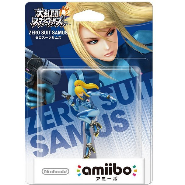 amiibo Super Smash Bros. Series Figure (Zero Suit Samus)