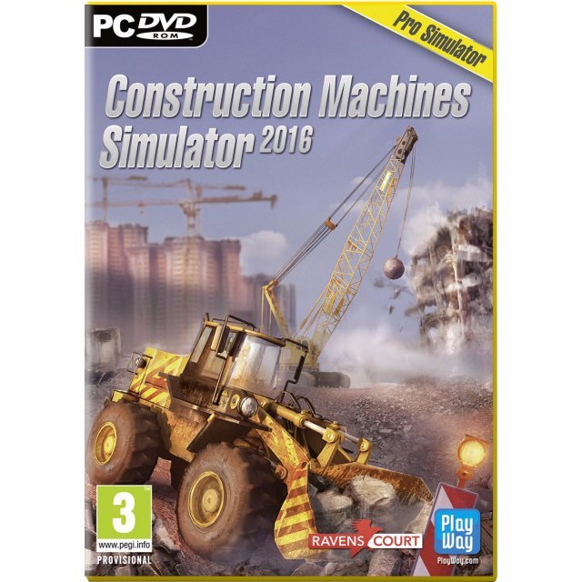 Construction Machines Simulator 2016 (DVD-ROM)