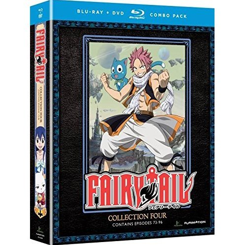 Fairy Tail: Collection 4 [Blu-ray+DVD]