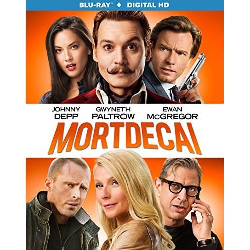 Mortdecai [Blu-ray+Digital HD]