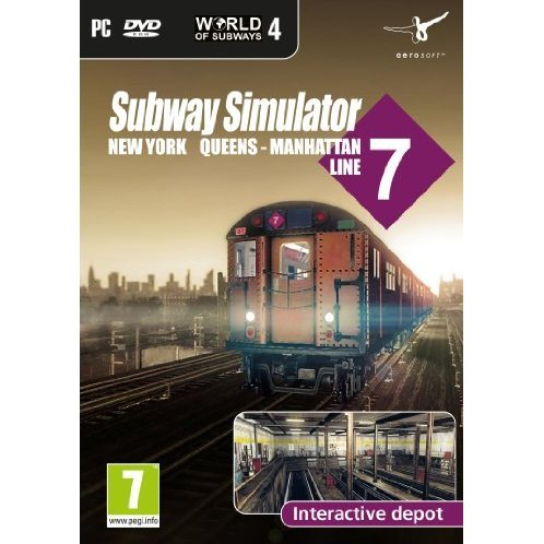 World of Subways 4 - New York Line 7 (DVD-ROM)