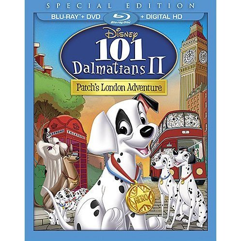 101 Dalmatians II: Patch's London Adventure (Special Edition) [Blu-ray+DVD+Digital Copy]