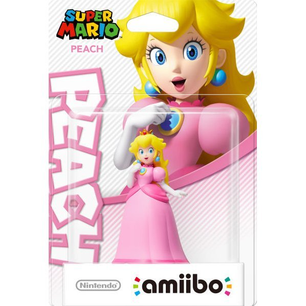 amiibo Super Mario Collection Figure (Peach)