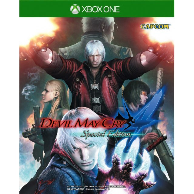 Devil May Cry 4 Special Edition (English & Japanese)