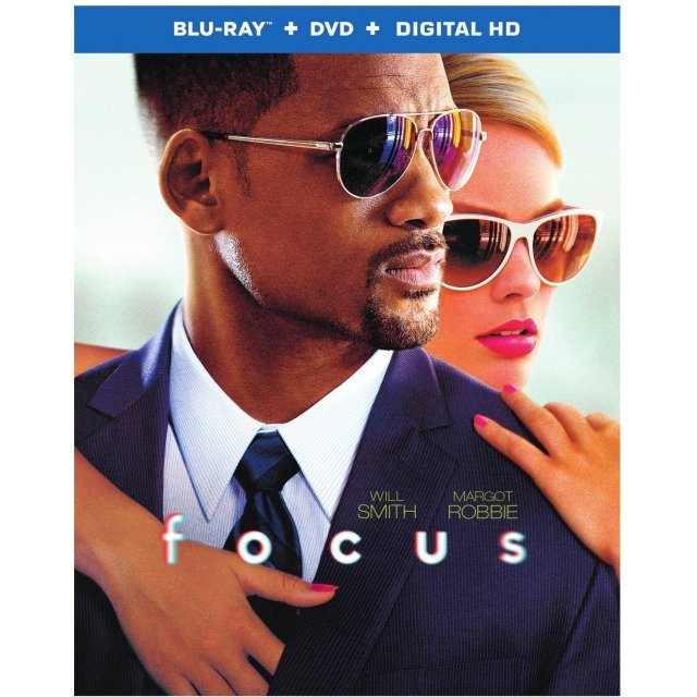 Focus [Blu-ray+DVD+UltraViolet]