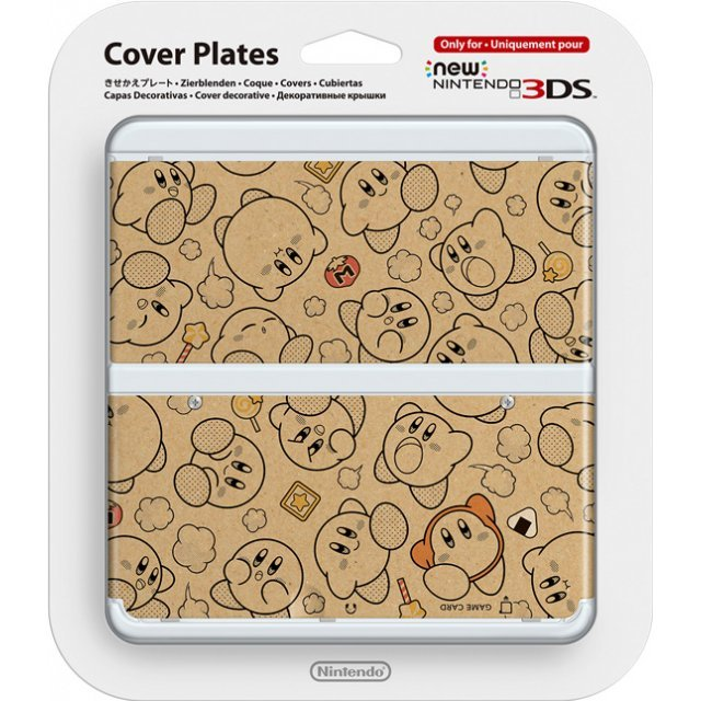 New Nintendo 3DS Cover Plates No.058 (Kirby) (Re-run)
