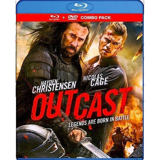 Outcast [Blu-ray+DVD]
