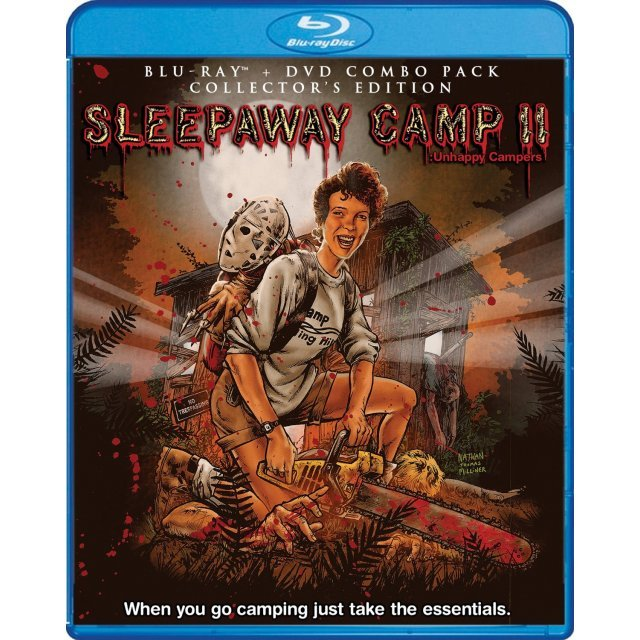 Sleepaway Camp II: Unhappy Campers (Collector's Edition) [Blu-ray+DVD]
