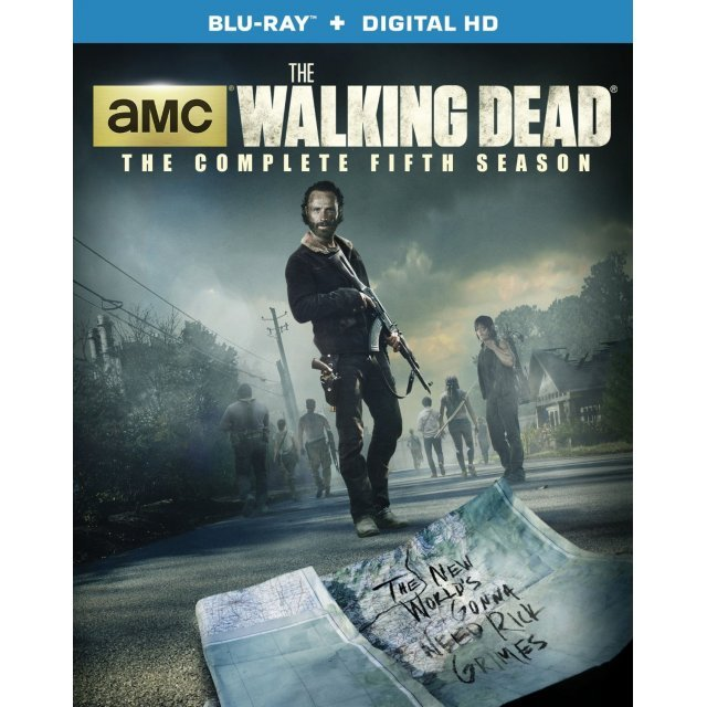 The Walking Dead: The Complete Fifth Season [Blu-ray+UltraViolet]