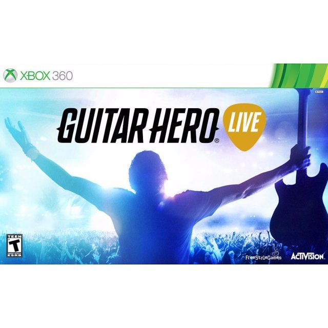 Guitar Hero Live (with Guitar Controller)