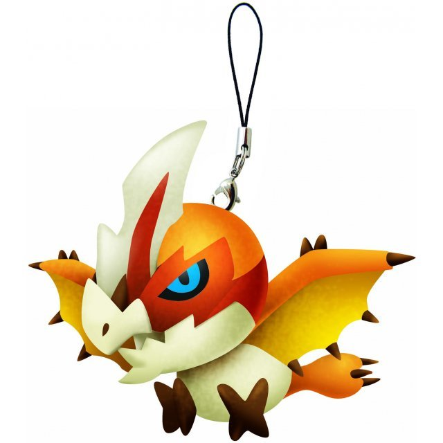 Monster Hunter Monster Mini Mascot Plush: Seregios (Re-run)
